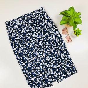 Express Floral Pencil Skirt 6